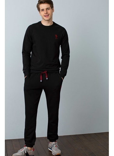 U.S.Polo Assn. Sweatshirt Siyah
